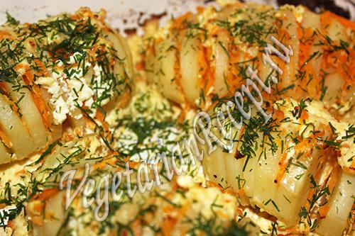 рецепт картошка гармошка