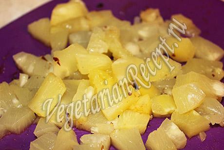 консервированные ананасы для кекса