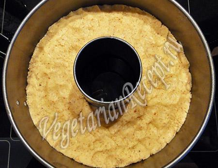 приготовление миндального кекса