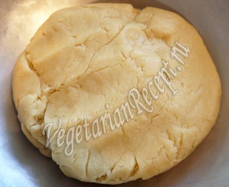 замешанное тесто для печенья