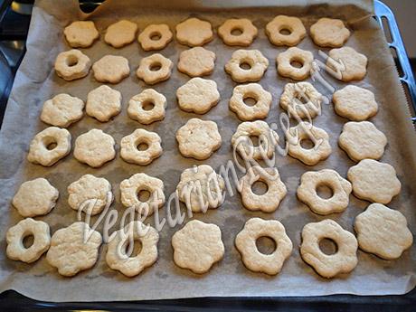 приготовление печенья со сгущенкой