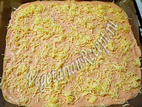 рецепт крекеров с сыром и соусом