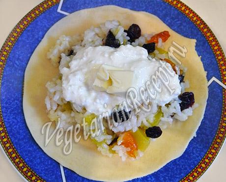 рецепт пирожков с рисом и тыквой