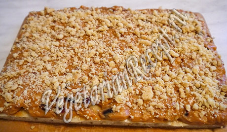 пирожное с арахисом