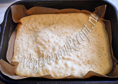 пирожное со сгущенкой - корж основа