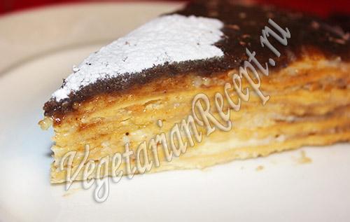 торт с заварным кремом рецепт