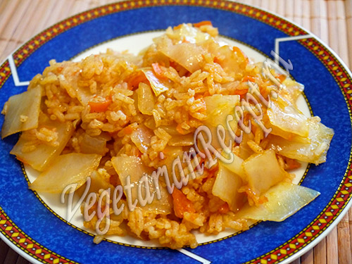 рис с капустой