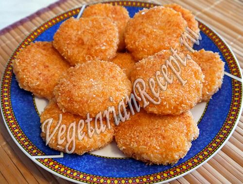 фото рецепт рисовых котлет