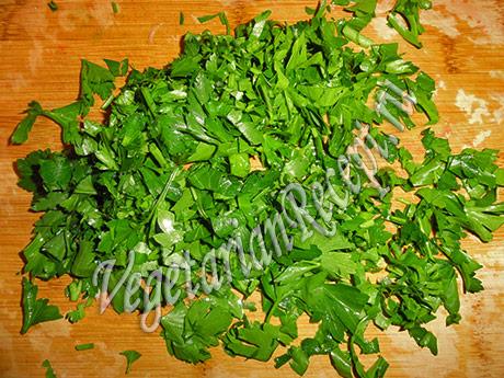 кинза для салата
