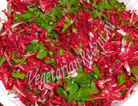 салат из сырых овощей рецепт