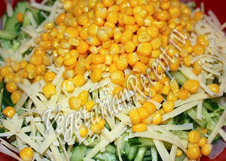 приготовление салата с пекинской капустой