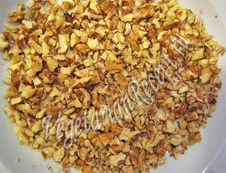 грецкие орехи для салата со свеклой