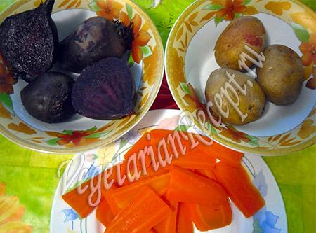 продукты для вегетарианского салата