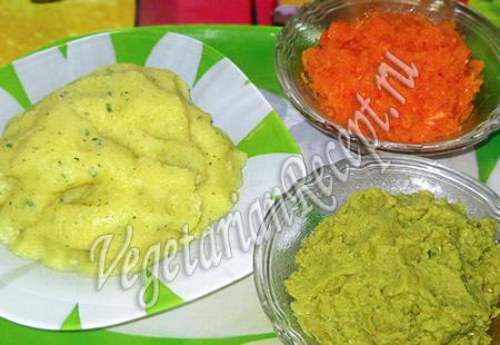 овощное цветное пюре