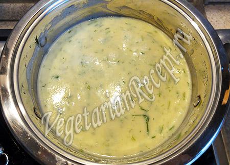 суп пюре с капустой