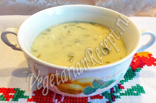 рецепт супа пюре из пекинской капусты