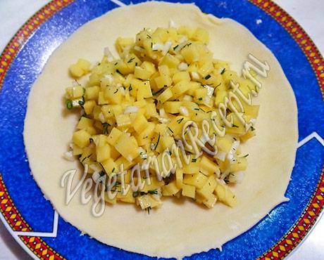 рецепт татарских пирожков с картошкой