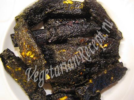 вегетарианская рыба для запекания в духовке