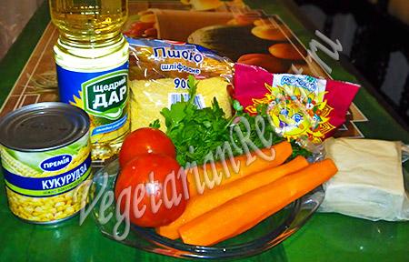 продукты для пшенной запеканки