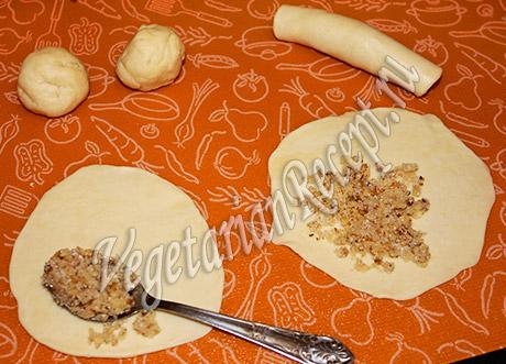 приготовление печенья бармак