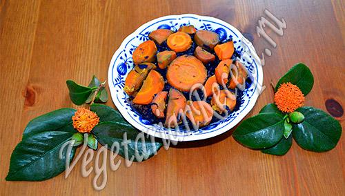 рецепт блюда из красной капусты