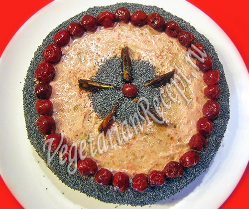 финиковый торт рецепт