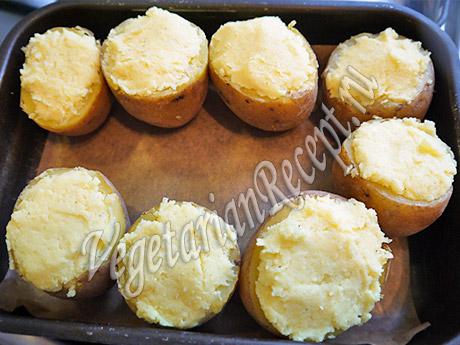 начиненная картошка