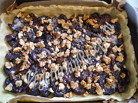 пирог с черносливом рецепт