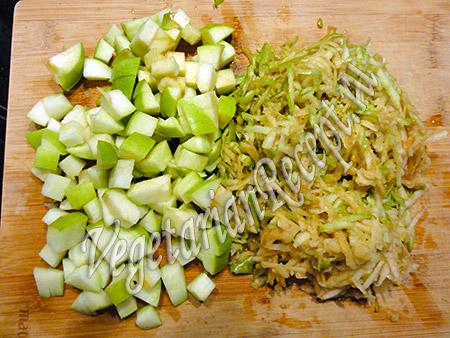 яблоки для сконов