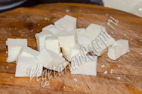 сыр кубики