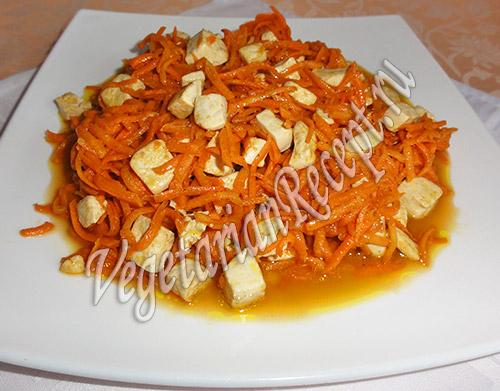 салат из тофу рецепт
