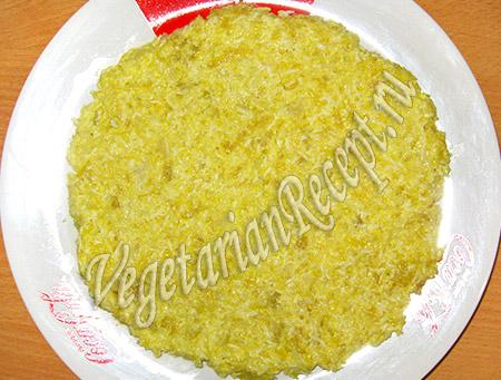 овощной слой из капусты