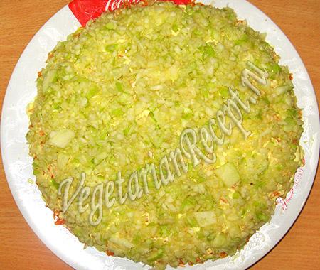 яблочный слой салата