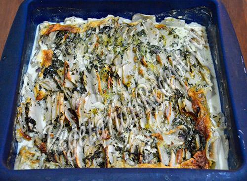 рецепт топинамбур, запеченный в духовке