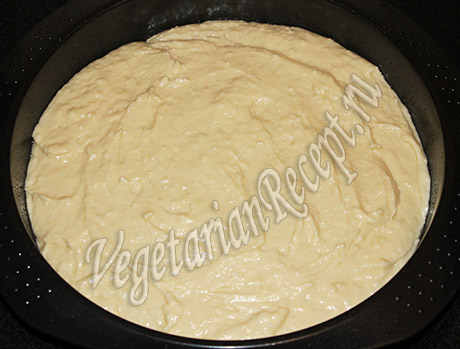 выпекаем белый корж для торта