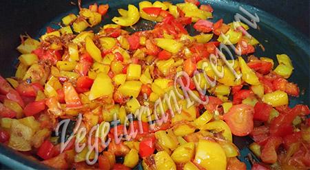 овощи для добавления в гречневую лапшу