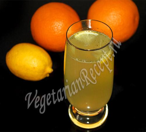 Лимонад с ананасом и эстрагоном, пошаговый рецепт с фото