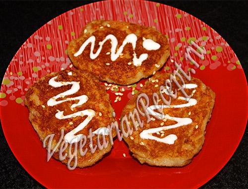 картофельные котлеты, запеченные в духовке