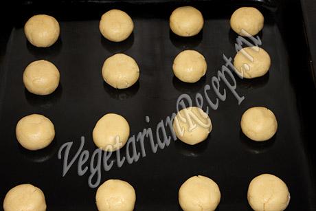 приготовление печенья с лимоном