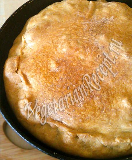 пирог с брокколи и картофелем