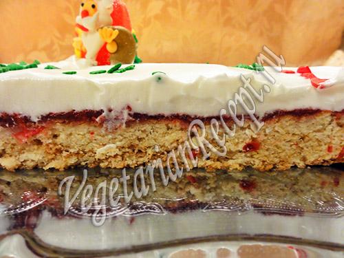 фото-рецепт пирог с клюквой