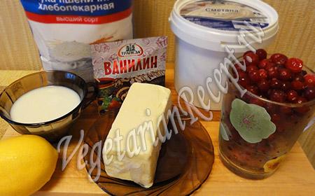 подготовленные ингредиенты для пирога