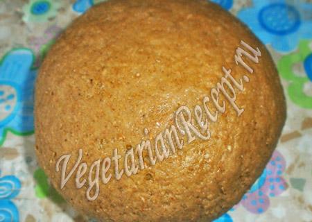 имбирное тесто для постного печенья