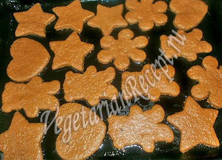 рецепт постное имбирное печенье