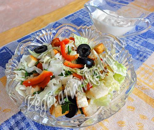 салат пекинская капуста сыр