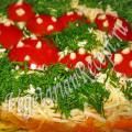 салат с морковью и картофелем