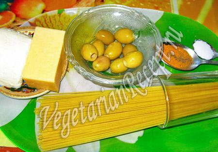 продукты для сырного рулета