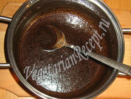 шоколадная глазурь с кэробом