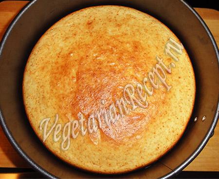 бисквит для желейного торта