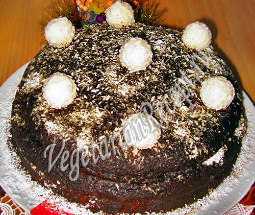 Волшебный торт с кэробом